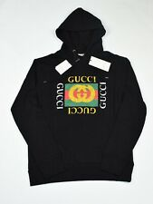 Authentic Gucci Mens Oversize Hooded Sweatshirt