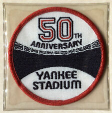 1973 NEW YORK YANKEES STADIUM 50TH OFFICIAL MLB BASEBALL PATCH LOST TREASURES