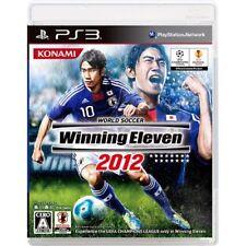 New PS3 World Soccer Winning Eleven 2012 Japan Import
