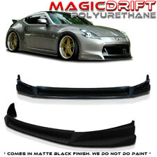 SL-Style Front Lip Poly Urethane Chin Spoiler Fits 09 10 11 12 Nissan 370z
