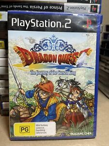 Dragon Quest VIII: The Journey of the Cursed King PS2 *FACTORY SEALED* AUS PAL