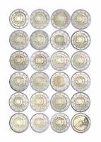 Komplettset 23 x 2 Euro Gedenkmünzen 2015 Europaflagge Belgien bis Zypern