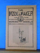 Modelmaker Magazine 1932 January signal system SP Mountain type loco