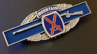 10th Mountain Combat Infantry Badge Army Patch CIB Military Medal Insignia Pin