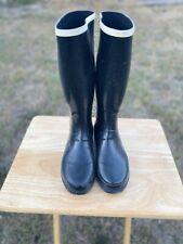 Marc Jacobs Black Womens Rain Boots - US 10 - EU 40