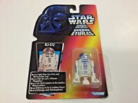 Vintage RARE 1995 Star Wars red card French Canadian POTF R2-D2 Figure!