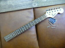 squire  strat  guitar  neck  with  tuners