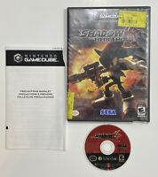 Shadow the Hedgehog (Nintendo GameCube 2005) Black Label, TESTED, No Manual