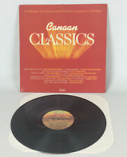Canaan Classics: Various Great Gospel Artists & Songs Vinyl LP Record CAS 9898