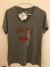 New Authentic Los Angeles Angels of Anaheim Men's Medium Gray Est. 1961 T-Shirt