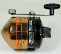 Vintage Zebco Hoss Model 700 Fishing Reel RARE Copper Color Made in USA