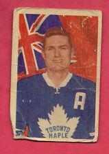 1963-64 PARKHURST # 1 LEAFS ALLAN STANLEY   CARD