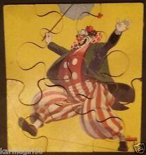 Vintage Sifo 7 Piece Jigsaw Puzzle - 1953 Clown