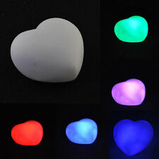 Gift Room 7-Color Changing LED Light Decoration Lovely Heart Shaped Home Mood