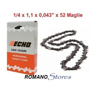 """Espada 4 cadenas adecuado para ECHO CS 3500 45cm 3//8/"""" 62tg 1,3mm sierra cadena Chain"""