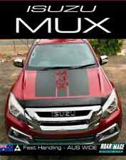 2013+ Isuzu MU-X Bonnet stripes decals stickers kit decal sticker stripe MUX