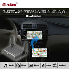 Support YouTube MiraBox 5G wireless mirror link box AV/HDMI Support iOS/Android