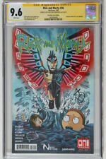 Rick and Morty #36 Brain Trust Variant Signed/Remarked Greg Kirkpatrick CGC 9.6