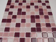 Glas Mosaik  lila mix zum Bogenpreis 4 mm Stark