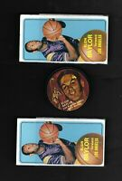 1-1971 Mattel Instant Replay Disc - Elgin Baylor  Los Angeles Lakers 2-TOPPS