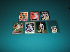 RARE NOLAN RYAN CARDS FROM THE '90s ~ SEVEN CARDS STRAIGHT FROM THE PACKS ~