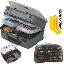 Plano Large Guide Series Satchel Tackle Box Clear Bass Fishing 44 Magnum 144402