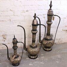 More details for aravalli aftaba brass arabian jug moroccan vase ornament restaurant wedding home