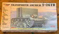 T-26 TB - WW II SOVIET ARMOURED AMMO CARRIER & APC 1/72 MIRAGE
