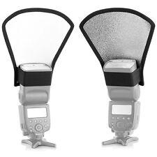 Flash Diffuser Softbox Silver White Reflector for Canon Nikon Speedlite set