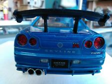 JADA IMPORT RACER 1/24 SCALE REAR BUMPER & WING FOR REPAIRING NISSAN SKYLINE GTR