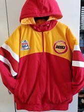 🔥🔥 HOUSTON ROCKETS NBA Mitchell RARE! 1995 NBA FINALS Jacket Mens Large New!🏀