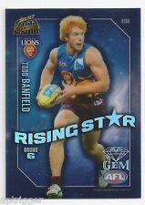 2011 Select Champions Rising Star Gem (RSG6) Todd BANFIELD Brisbane +++