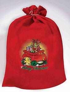 Santa Claus Toy Bag Christmas Costume Accessory
