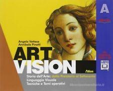 Art vision A+B+Art Lab. ATLAS SCUOLA, Vettese/Pinotti, cod:9788826817699