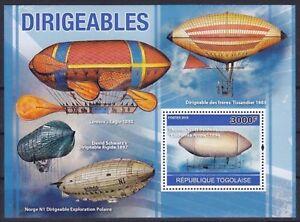 Togo Block 554 (3723) **, Luftschiffe / Zeppeline (12 ME)