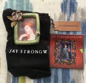 Jay Strongwater Enamel with Swarovski Crystals Mini Picture Frame Ladybug NIB