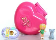 MATTEL VINTAGE POLLY POCKET** BATHTIME FUN RING CASE **100%,STUNNING!