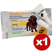 ELIMINALL ANTIPARASITE - CHIENS PETITS 2-10KG (Générique FRONTLINE) - 1 PIPETTE