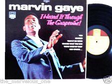 "MARVIN GAYE~ ""HEARD IT THRU THE GRAPEVINE""~TAMLA LP!!!"