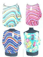 6pc wholesale womens tops floral abstract design -Free ShipFrom USA/Canada