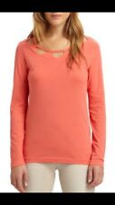 Mark Jacobs Red Blush Women's Orange Top Blouse Size Small NWT $148