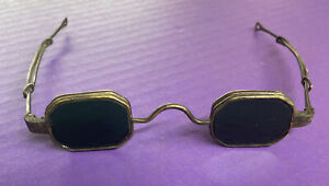 Vintage Welding Glasses w Folding Side Lenses Steampunk Look