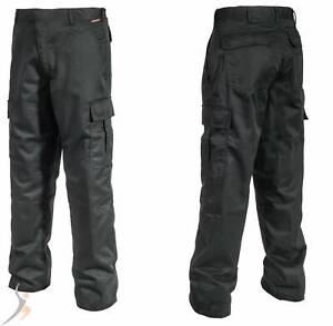 Arbeitshose Bundhose Cargohose Schutzkleidung Security Hose schwarz Gr.44-64 Neu