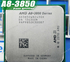"AMD A8 3850 2.9GHz 4MB Socket FM1 Quad Core CPU + ""FREE"" Thermal paste"