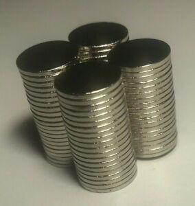 10 x Very Strong Circular Disc Neodymium Magnets 10mm x 1mm Fridge