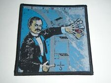 BLUE OYSTER CULT AGENTS OF FORTUNE WOVEN PATCH