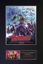 #810 AVENGERS Endgame Reproduction Signature/Autograph Mounted Signed Photo A4