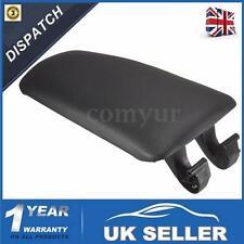Black Console Center Armrest Arm Rest Cover Lid FOR AUDI A4 B7 2002-2007 A4L -UK