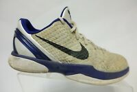 NIKE Kobe 6 VI Purple/White Sz 7y Kids Basketball Shoes