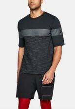 Under Armour * UA Sportstyle Soccer T Shirt Black Large for Men 1306494